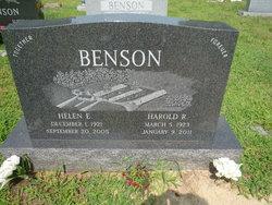 Helen E <i>Johnson</i> Benson