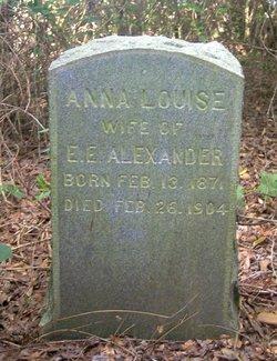 Anna Louise Alexander