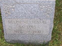 Mrs Delphine <i>Testas</i> Baulois