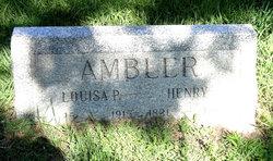 Louisa <i>Phillips</i> Ambler