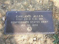 Sgt Garland Allen