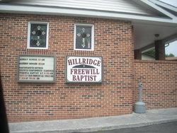 Hill Ridge Family Cemetery