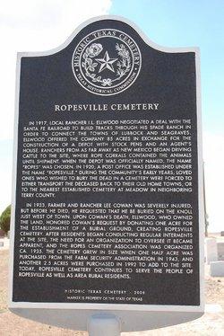 Ropesville Cemetery