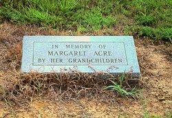Margaret Ann <i>Biggs</i> Acre