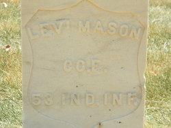 Pvt Levi Mason