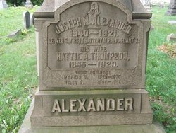 Pvt Joseph M. Alexander