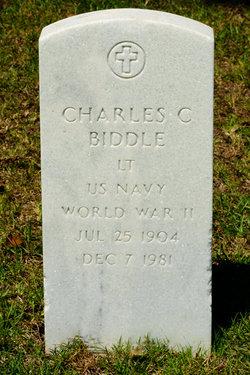 Lieut Charles C Biddle