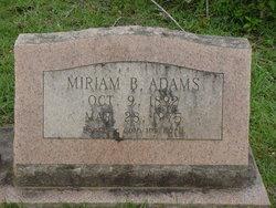 Bertha Miriam <i>Sheffield</i> Adams