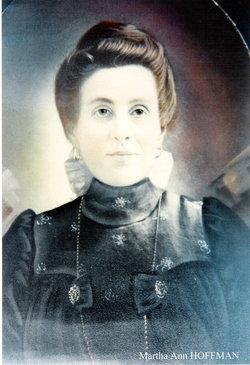 Martha Ann Mattie <i>Hoffman</i> Oakes