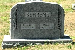 Anna Christina <i>Osgood</i> Behrens