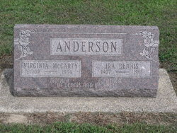 Virginia <i>McCarty</i> Anderson