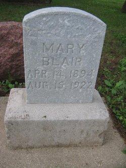 Mary <i>Blechl</i> Blair