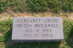 Margaret Louise Louise <i>Pruden</i> Brockwell