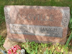 Lucy H <i>Tompkins</i> Scoville