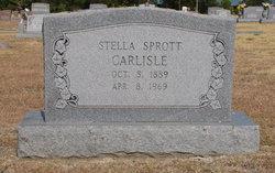 Stella <i>Sprott</i> Carlisle