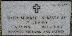 Watie Murrell Alberty, Jr