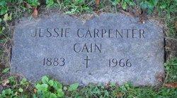 Jessie Aunt Jess <i>Carpenter</i> Cain