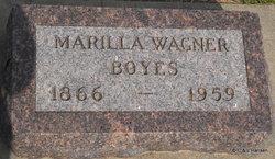 Marilla <i>Wagner</i> Boyes