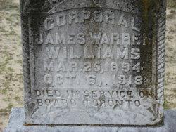 Corp James Warren Williams