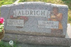 Bertie E. <i>Tolliver</i> Aldrich