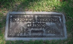 Rebecca J <i>Sterner</i> Cairns