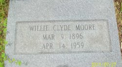 Willie Clyde <i>McClelland</i> Moore