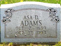 Asa D Adams