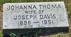 Johanna <i>Thoma</i> Davis