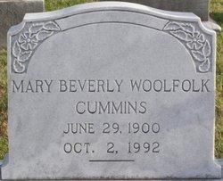 Mary Beverly <i>Woolfolk</i> Cummins