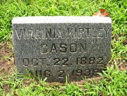 Virginia <i>Kirtley</i> Cason