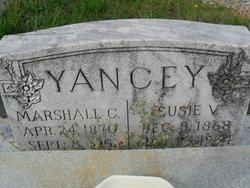 Susie Virginia <i>Atha</i> Yancey