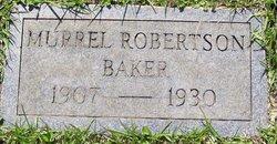 Murrel <i>Robertson</i> Baker