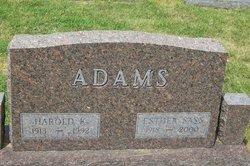 Harold K. Adams
