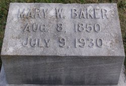 Mary Herndon <i>Woolfolk</i> Baker