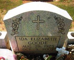 Ida Elizabeth <i>McBay</i> Goode