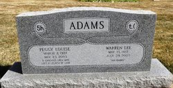 Peggy Louise <i>Anderson</i> Adams