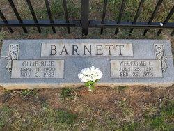Welcome E Barnett