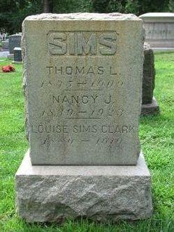 Thomas L Sims