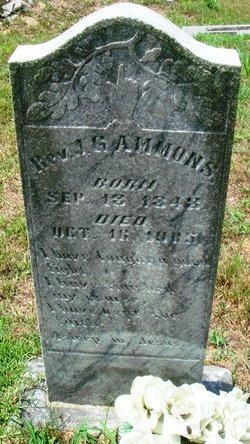Rev James Grayson Ammons