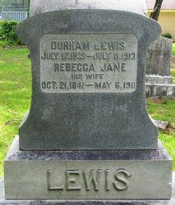 Rebecca Jane Becky <i>Regan</i> Lewis