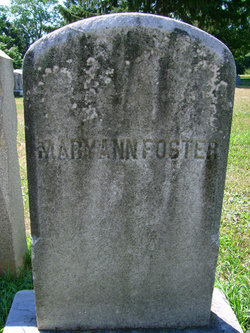 Mary Ann Foster