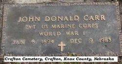 John Donald Carr