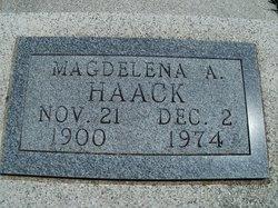 Magdalena Angline Maggie <i>Wanrow</i> Haack