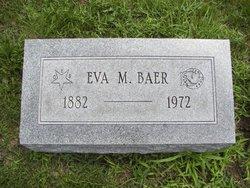 Eva M. <i>Forquer Erskine Edminster</i> Baer