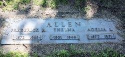 Mrs Adelia Lavina <i>Lowe</i> Allen