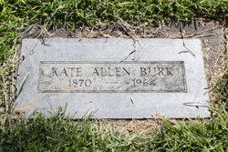 Mrs Kate Allen Burk