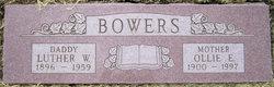 Ollie E Bowers