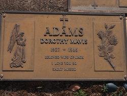 Dorothy Mavis Adams