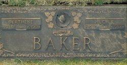 Edith Berthene <i>Blair</i> Baker