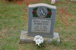Rosa <i>Johns</i> Hamilton